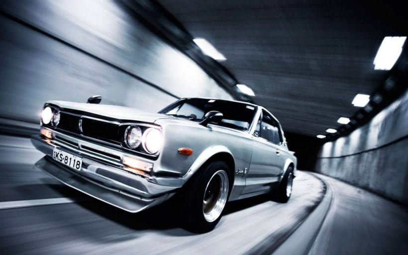 Classic Nissan Skyline GTR from Japan