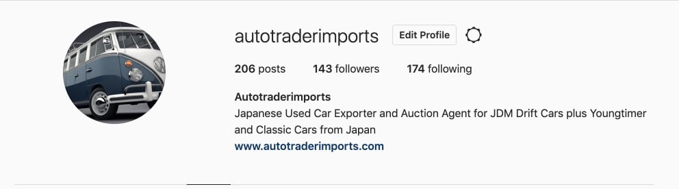 Discover Auto Trader Imports  in Instagram