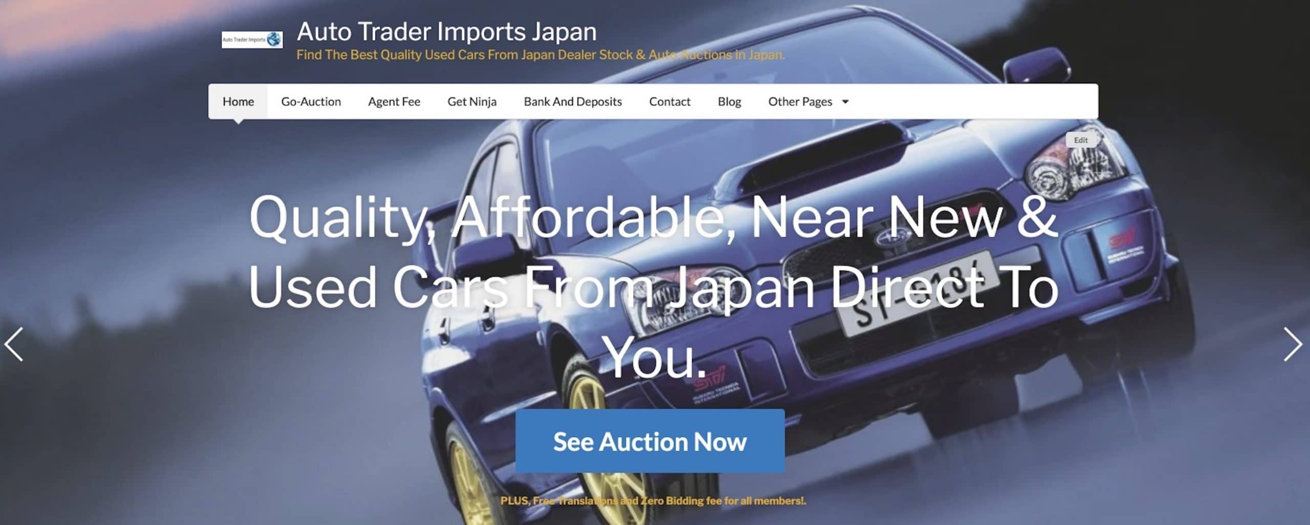 For the best Cars From Japan see Auto Trader Imports