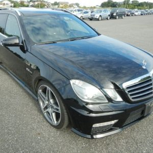 2006 Mercedes Benz E63 AMG in black for export