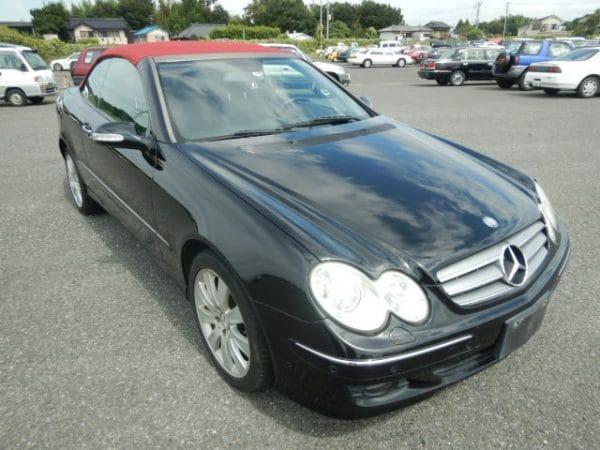 Sehr attraktiver 2007er Mercedes Benz CLK350