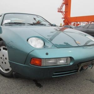 Classic Porsche 928 GTS In Metallic Green