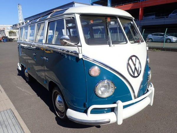 Classic VW Type II Kombi Van Are Available In Japan